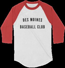 Des Moines Baseball Club Shirt